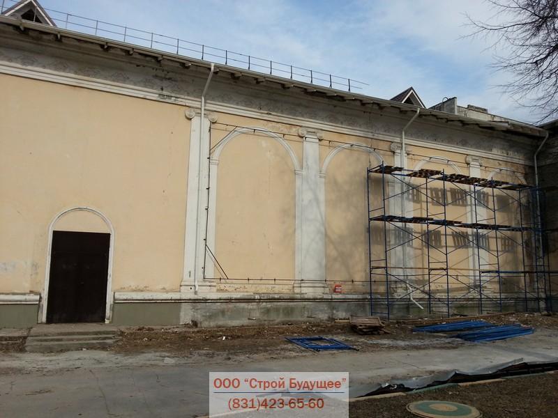 Ремонт фасадов капитальный или текущий