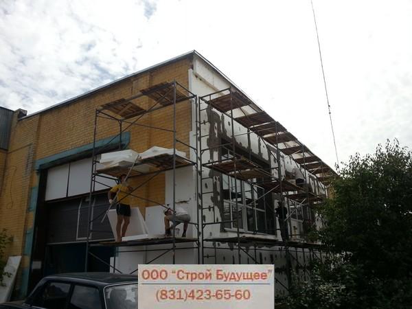 Декоративная отделка фасадов плитками из